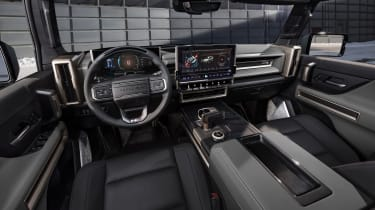 Hummer EV GMC - interior