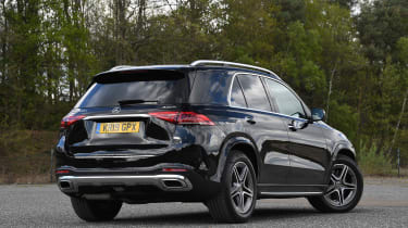 Mercedes GLE - rear static