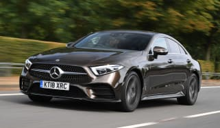 Mercedes CLS 350 d - front