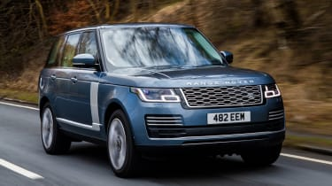 Range Rover PHEV - front