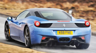 Top 5 greatest ever V8 Ferraris - Ferrari 458 Italia