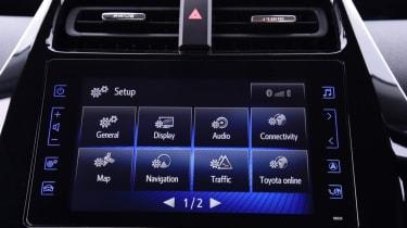 Toyota Prius - infotainment