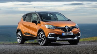 Renault Captur front 3/4