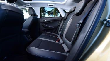 Vauxhall Grandland X - rear seats