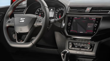 New SEAT Ibiza FR 2017 steering
