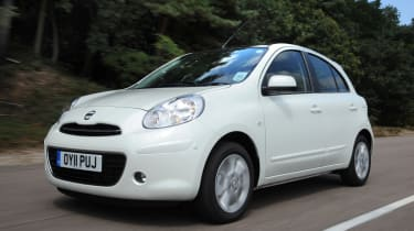 Nissan Micra 1.2 DIG-S Tekna front tracking