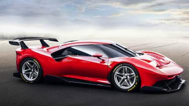 Ferrari P80/C - front static
