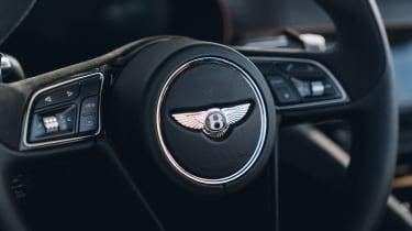 Bentley Bacalar - steering wheel