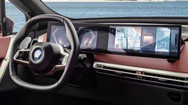 BMW iDrive 8 - screens