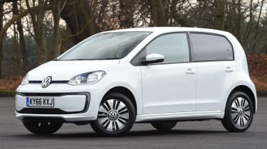 Volkswagen e-up! electric car 2017 - front quarter