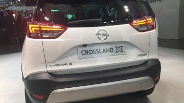 Vauxhall Crossland X - rear