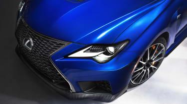 Lexus RC F - front detail