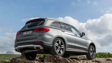 Mercedes GLC - rear static off-road