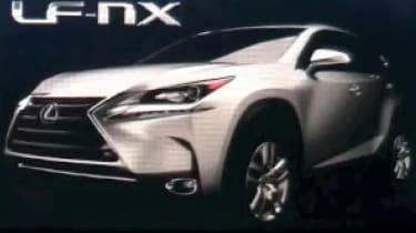 Lexus NX leak