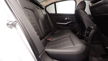 BMW 3 Series - studio rear seats