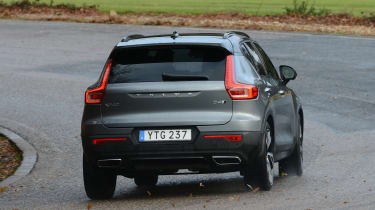 Volvo XC40 - rear action