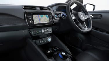New Nissan Leaf - interior