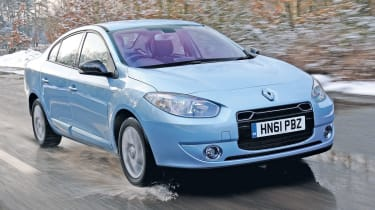 Renault Fluence Z.E. front tracking