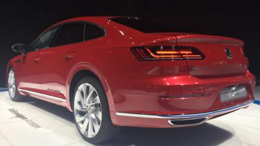 Volkswagen Arteon official - Elegance Geneva rear