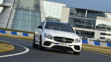 Mercedes-AMG E 63 S long termer - first report front cornering
