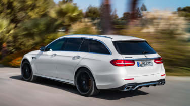 Mercedes-AMG E 63 Estate - rear tracking