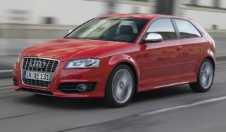 Audi S3 hatchback front tracking
