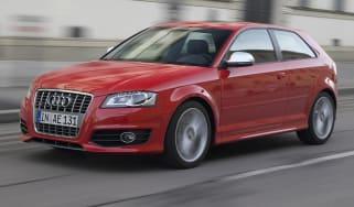 Audi S3 hatchback front tracking
