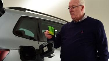 Skoda Karoq meets its customers - fuel