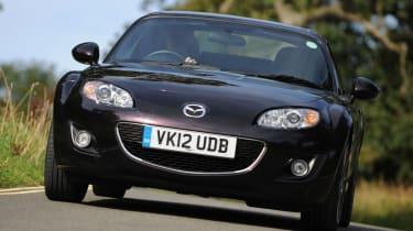Mazda MX-5 front tracking