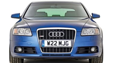 Audi A6 front static