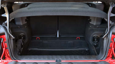 MINI John Cooper Works Convertible UK 2016 - boot space