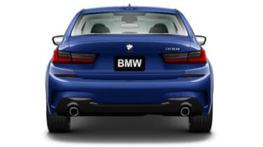 Leaked BMW 3 Series - full rear
