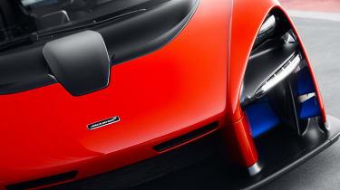 McLaren Senna prototype - headlight