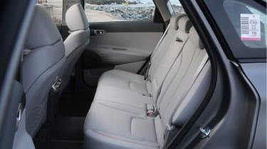 Hyundai NEXO rear seats