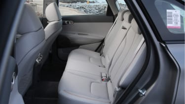 Hyundai NEXO rear seats