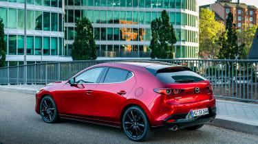Mazda 3 SkyActiv-X - rear static