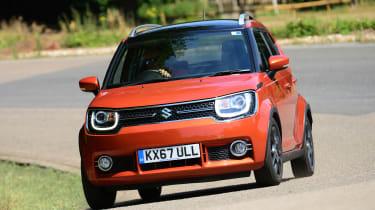 Suzuki Ignis - front action