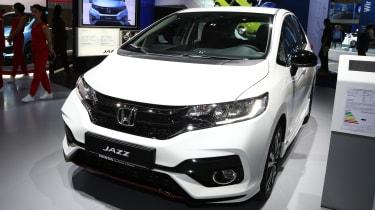 Frankfurt - Honda Jazz facelift - front