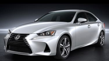 Lexus IS 2016 white