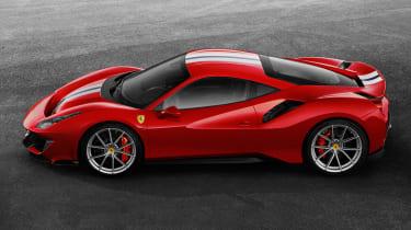 New Ferrari 488 Pista - side
