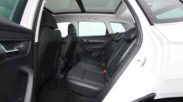 Skoda Karoq - back seats