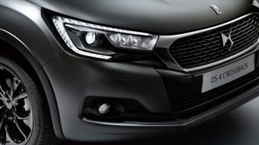 DS 4 Crossback Moondust - front detail