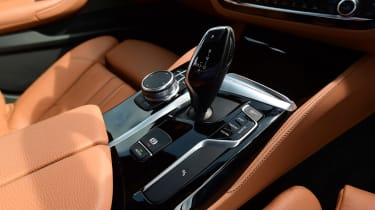 BMW 5 Series - second report centre console