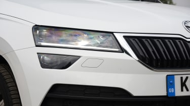 Skoda Karoq - headlight