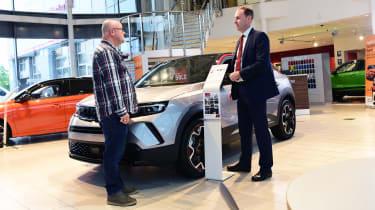 Vauxhall Mokka-e - first report pose