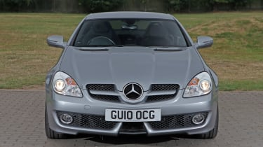 Used Mercedes SLK - full front