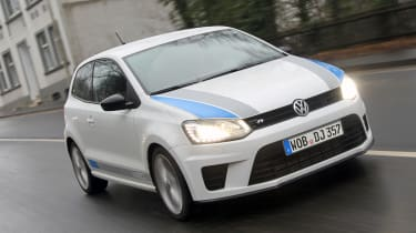Volkswagen Polo R WRC front tracking