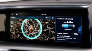 Hyundai NEXO - infotainment
