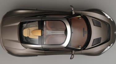 Spyker Preliator - aerial shot
