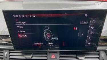 Audi RS 4 Avant long termer second report - massage seats